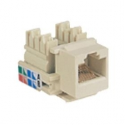 Keystone cat 5E white UTP
