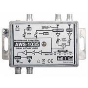 Anténní zesilovač AWS-1035 (FM-VHF/UHF-UHF 33dB)