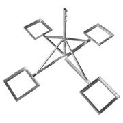 Čtyřnožka 48-1200-650U na dlaždice s maticemi, žárový zinek