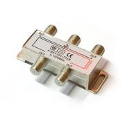 TV/FM Rozbočovač R-4 (5-1000 MHz) - 1x napájecí větev