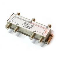 TV/FM Rozbočovač R-6 (5-1000 MHz) - 1x napájecí větev
