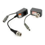 Obrazový vysílač/přijímač 1VAP - s kabelem a RJ45 (pro CVI,TVI, AHD, Analog,2ks)