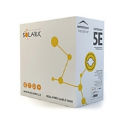 Kabel UTP Cat5e PVC Solarix (vnitřní) [305m]