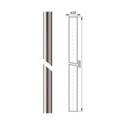 Stožár anténní 35/1,5-2000mm, AL