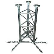 Příhradový stožár 48-550-1000 do betonu - žár