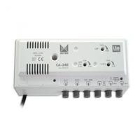 Vnitřní zesilovač Alcad CA-340 LTE (2xUHF, 1xFM - 42dB)