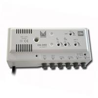 Vnitřní zesilovač Alcad CA-342 LTE (2xUHF, 1xBIII, 1xFM - 30dB)