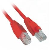 SFTP patch cord červený 1m Cat6
