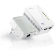 TP-Link Powerline extender TL-WPA4220 Starter Kit 300Mbps AV500 WiFi Powerline Extender Starter Kit