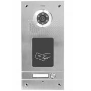 Barevná dveřní kamerová jednotka S561A s 1 tlačítkem a čtečkou karet