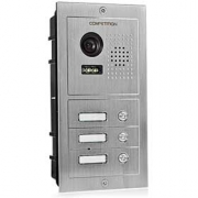 Barevná dveřní kamerová jednotka S603 s 3 tlačítky