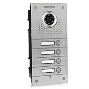 Barevná dveřní kamerová jednotka S564 se 4 tlačítky