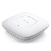 TP-Link 300Mbps Wireless N Ceiling Mount Access Point, Qualcomm, 300Mbps at 2.4GHz, 802.11b/g/n, 1 10/100Mbps LAN, 802.