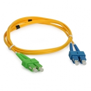 Single-mode Patchcord ULTIMODE PC-512D 2 x SC to 2 x SC/APC, 9/125