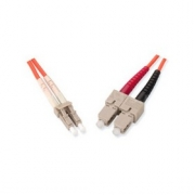 Premium Line Optický patch kabel duplex LC-SC 09/125 - 2m SM