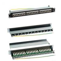 Patch Panel (1U, 24 FTP CAT6 portů + držák na kabel)