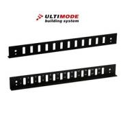 Přední panel ULTIMODE P-24SC-DUPLEX (1U, 24 zásuvek pro SC duplex adaptéry)