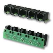 Splitter RJ11 k teplotnímu čidlu DS18B20 pro Lan Controller