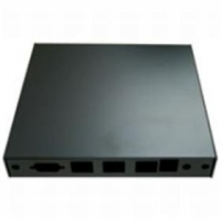 Montážní krabice CASE1D2BLKU, USB, 3x LAN, black