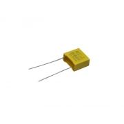 Kondenzátor svitkový 100nF, 310V, ±10%, rm. 10mm (pro odrušení blikání LED)