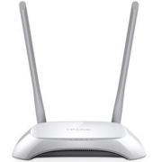 TP-Link TL-WR840N 300Mbps Wireless LAN Router, Qualcomm, 2.4GHz, 802.11b/g/n, 2x fixní anténa
