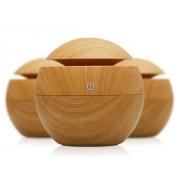 Aroma difuzér Y01 světlé dřevo - ultrazvukový, USB