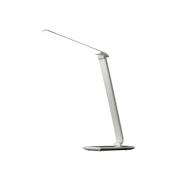 Svítidlo  stolní LED stolní lampička stmívatelná, 12W, volba teploty světla, bílý lesk WO37-W